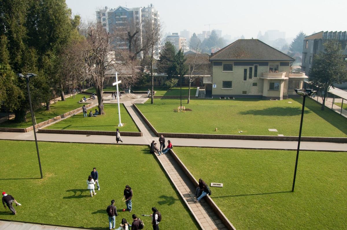 Campus San Francisco de la Universidad Católica de Temuco. Foto: Cedida UCT.