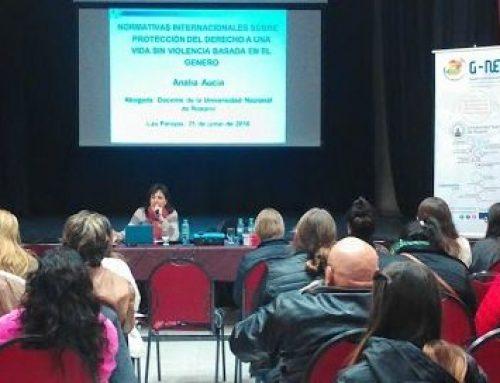Capacitación a funcionarios de Santa Fe, Argentina, sobre Unión Europea y Políticas de Igualdad de Género